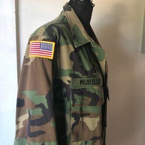 CAMO Trench Coat